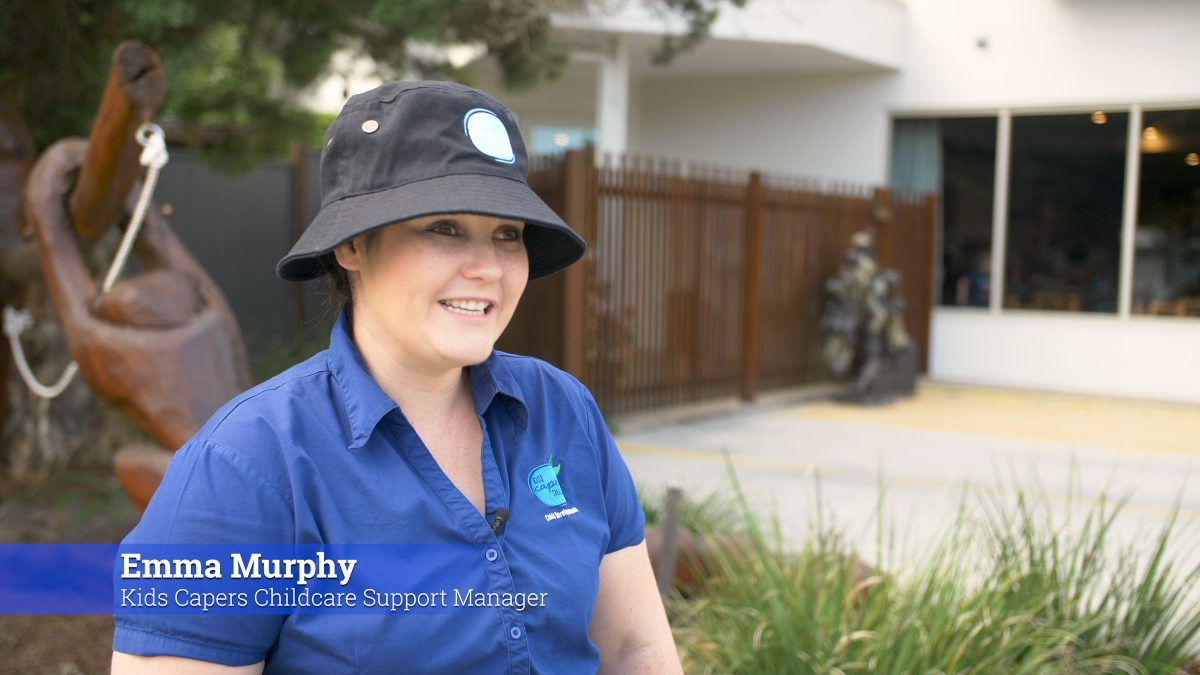 Kids Capers Childcare, Northgate Achieve EXCEEDING - Emma Murphy