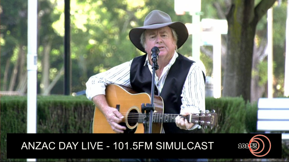 4OUR 101.5FM ANZAC Day LIVE Broadcast